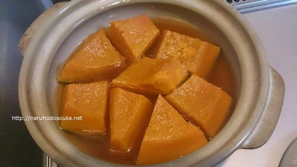 20151106土鍋かぼちゃ